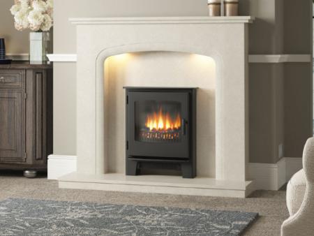 Elgin & Hall Viena Marble Fireplace