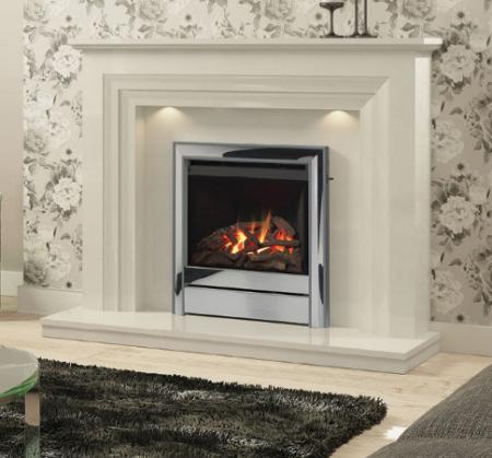 Elgin & Hall Vitalia Marble Fireplace
