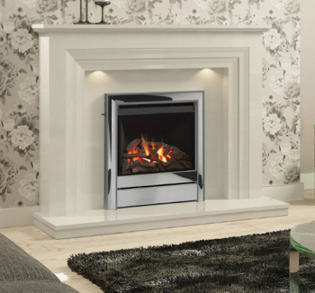 Elgin & Hall Vitalia Marble Fireplace