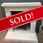 Wessex Iona Bathstone fireplace and Hearths Was £ 1628 Now £ 800 Ipswich Branch