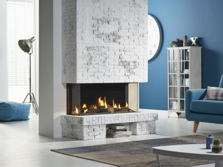 DRU Global 100 Triple BF Gas Fire