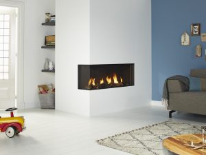 DRU Global 120 Corner BF Gas Fire