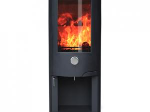 ZETA 10 LOG STORE wood burning stove