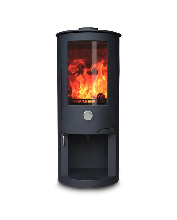 Zeta 10 Log Store 5 12kw Wood Burning Stove Zigis