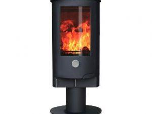 ZETA 10 Pedestal (5-12kw) Wood Burning Stove