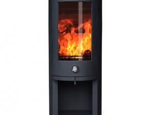 ZETA 5 log store wood burning stove