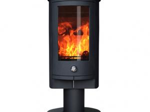 ZETA 5 PEDESTAL (4-6kw) Wood Burning Stove