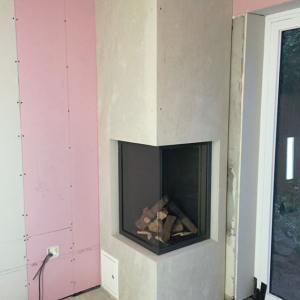 Bespoke fireplace installation-3