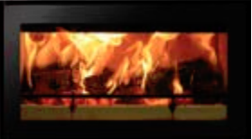 Riva Studio 1 wood burning inset fire