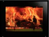 Riva Studio 500 wood burning inset fire