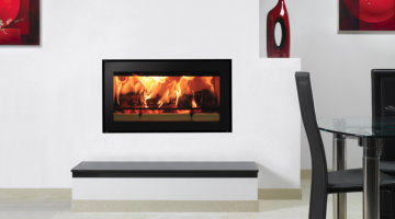 Stovax Studio 1 inset wood burning fire