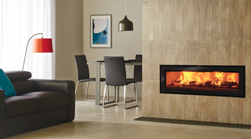 Stovax Studio 3 Edge wood burning fire
