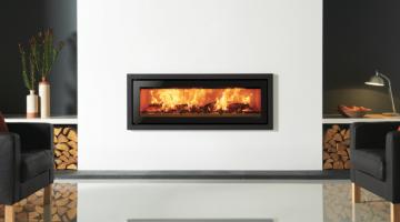 Stovax Studio 3 Profil inset wood burning fire