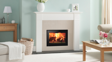 Stovax Studio 500 inset wood burning fire