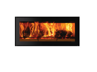 Stovax Studio Edge wood burning fire