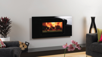 Stovax Studio 1 Glass inset wood burning fire
