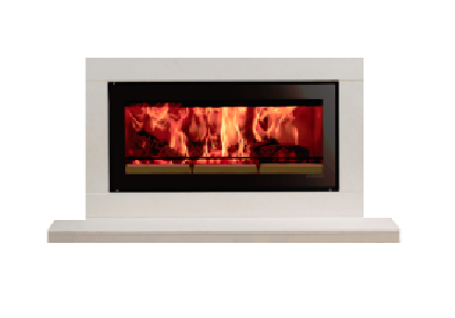 Stovax Studio Sorrento wood burning fire