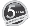 stovax fires five year warranty logo