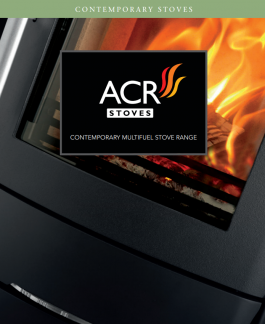 ACR Contemporary Stoves