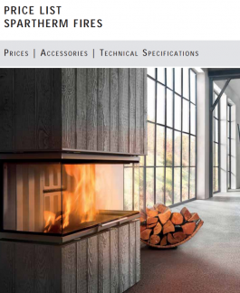 Spartherm Fireplaces Price List