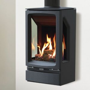 Gazco Vogue Midi T gas stove wall mounted