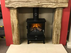 Newmans Exmoor Suite Hearths, Chamber Lining and Beams (Chelmsford Showroom) Was £1499 Now £750