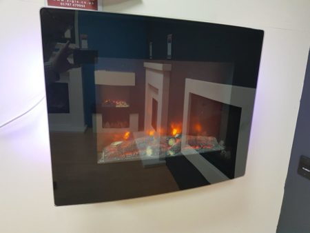 BeModern Quattro Electric Hang-on-Wall Fire (Halstead) - Was £320 NOW £150