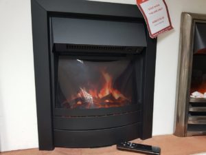 Celsi Electric 16-inch Puraflame Inset Fire with Remote Control (Halstead) - ONLY £150