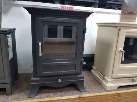Chesneys Beaumont 6 Series Multi-Fuel Stove in Matt Black (Halstead) - Was £1749 NOW £1399.20