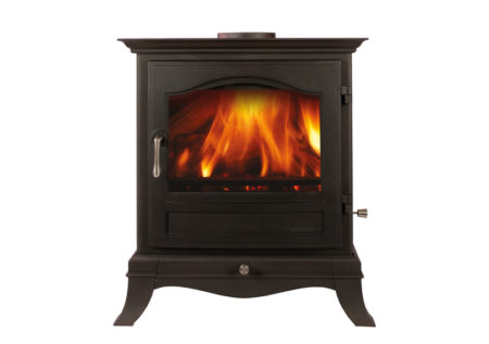Chesneys Belgravia 8 Series Mutli-Fuel Stove in Matt Black (Chelmsford) - Was £1960 NOW £1568