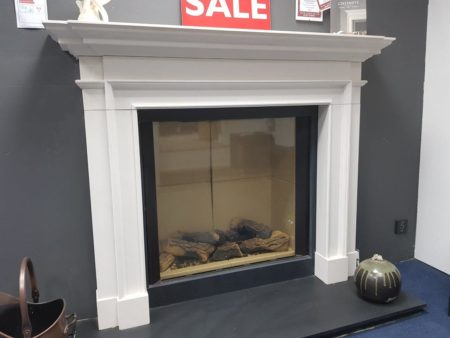 Chesneys Burlington 60-inch Limestone Surround (fire, slips, and hearth sold seperately) (Halstead) - Was £2155 NOW £1077.50