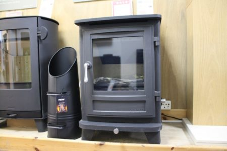 Chesneys Salisbury 6 Series Multi-Fuel Stove in Matt Black (Norwich) - Was £1600 NOW £799