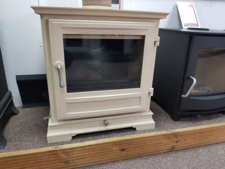 Chesneys Shipton 8 Series Multi-Fuel Stove in Parchment (Halstead) - Was £2185 NOW £1639.50