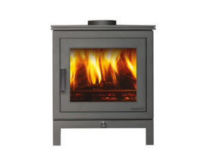 Chesneys Shoreditch 5 Series Wood Burning Stove in Silver (Chelmsford) - Was £1520 NOW £1292