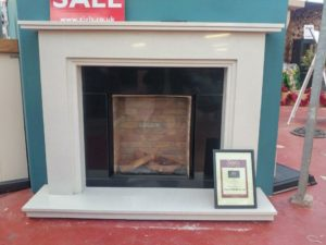 DRU Global 55XT CF LPG Gas Fire with Jessica Surround with lights (Ipswich) - Was £2565 NOW£1280