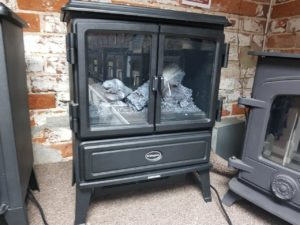 Dimplex Oakhurst Opti-Myst Electric Stove (Halstead) - Was £581 NOW £300