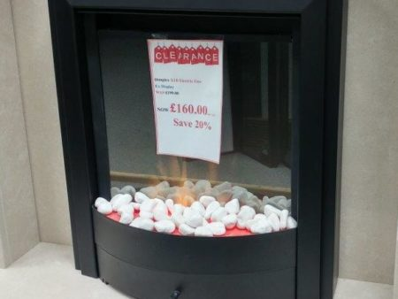 Dimplex X1B Electric Fire Colchester) - Was £199 NOW £160