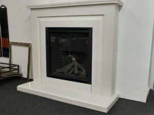 Elgin Hall Orieta Fireplace White NG (Chelmsford) Was £ 2166.43 Now £ 1500