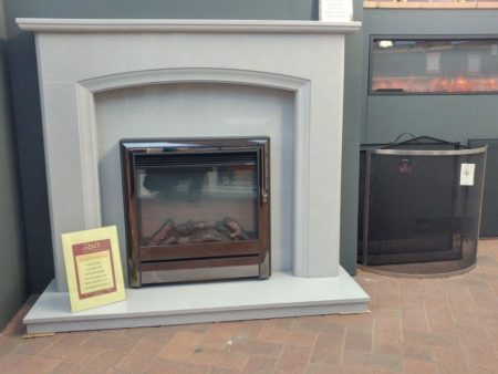 Elgin _ Hall Chollerton 22-inch Electric Inset Fire with Spacer Box (surround sold serperately) (Ipswich) - Was £575 NOW £400
