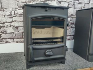 Fireline FPS Woodburning Stove Black - Was £698 NOW £663