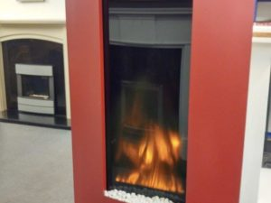 Gazco Studio 22 Verve in Red Electric Fire (Chelmsford) - Was £1015 NOW £507.50
