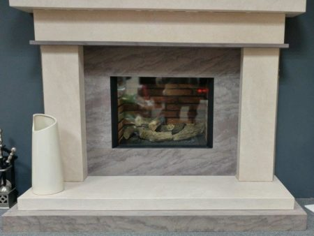 Newman fireplaces Vago 54-inch Surround (fire not included) (Colchester) - Was £1463.70 NOW £731.85