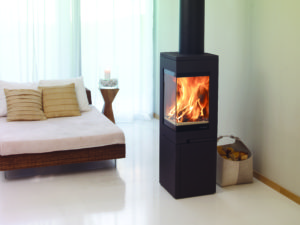 Nordpeis Quadro 2 Wood Burning Stove with Base (Chelmsford) - Was £2449 NOW £1959.20