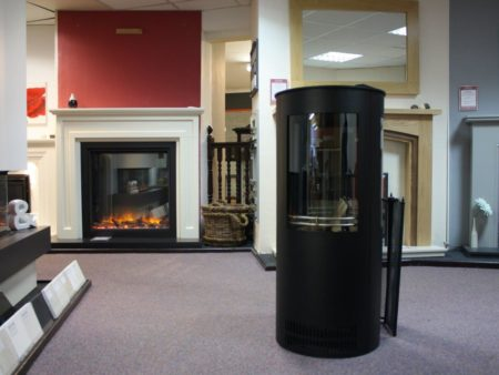 Oak Stoves Serenita Grand Electric Fire with Side Windows (Norwich) - Was £1999 NOW £1299