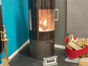 RAIS Viva L 100 Woodburning Stove (Chelmsford) - Was £2843 NOW £1705.80