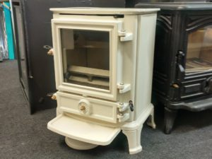 Stovax Brunel 1A Multi-Fuel Stove in Ivory Enamel (Chelmsford) -Was £1395 NOW £607.50