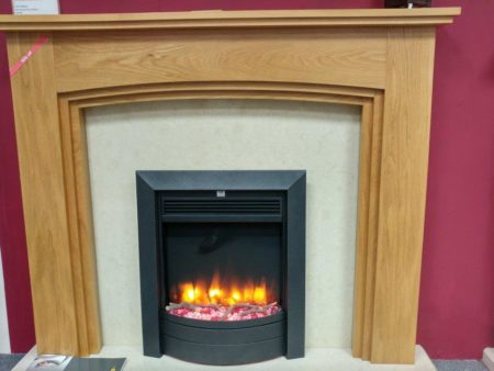 Trent Calgary 52-inch Surround (fire, back panel, and hearth not included) (Colchester) - Was £743.00 NOW £371.50