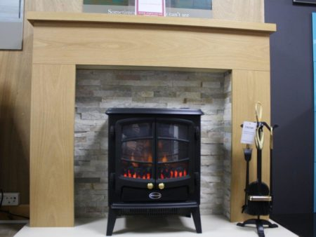 Trent Othello 48-inch Suite including Dimplex Tango Electric Stove (Norwich) - Was £999 NOW £399