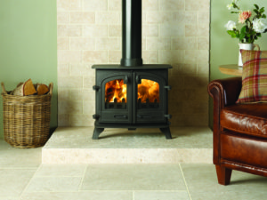 Yeoman Exe Double Door Wood Burning Stove (Chelmsford) - Was £1145 NOW £916