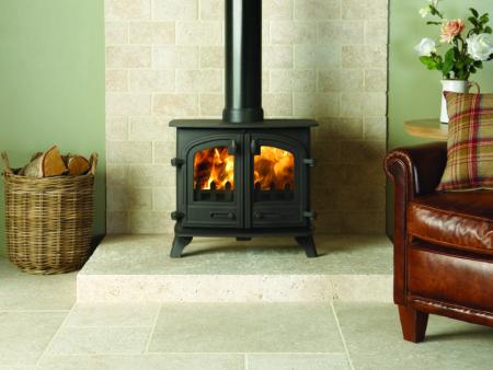 Yeoman Exe Double Door Wood Burning Stove (Chelmsford) - Was £1145 NOW £916